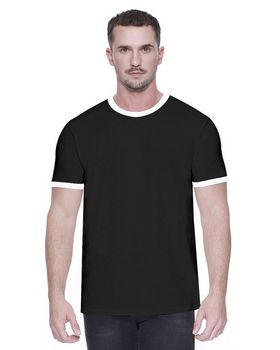 Startee ST2431 Mens CVC Ringer T-Shirt - Shop at ApparelGator.com