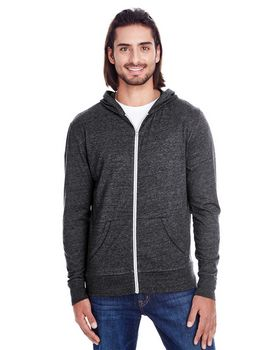 Threadfast Apparel 302Z Unisex Triblend Light Hoodie