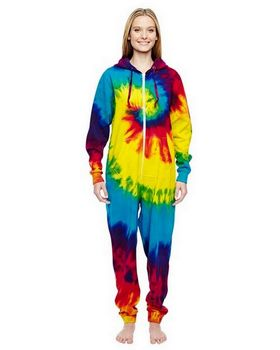 Tie-Dye CD892 All-In-One Loungewear - Shop at ApparelnBags.com