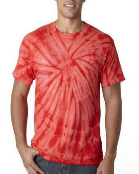 Tie-Dye HS1000 Adult Spider Cotton Tee - Shop at ApparelnBags.com
