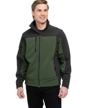 Tri-Mountain Performance 6825 Men Rockford Bonded Soft Shell Jacket