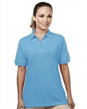 Tri-Mountain 092 Women's easy care pique golf shirt