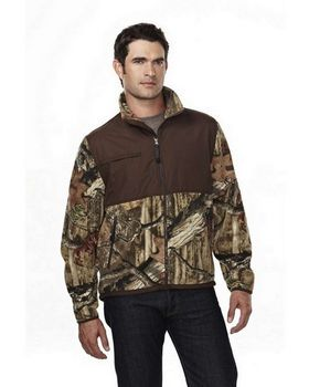 Tri-Mountain 7450C Men's 100% Spun polyester Anti Pilling Fleece Jacket