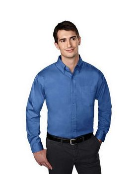 Tri-Mountain 780 Chairman Cotton Poly Wrinkle Free Pinpoint Oxford Shirt