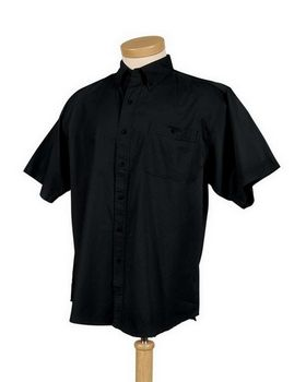 Tri-Mountain 808 Director Cotton Short Sleeve Twill Shirt