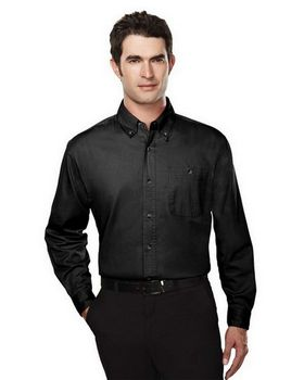 Tri-Mountain 810 Executive Men Cotton Long Sleeve Twill Shirt