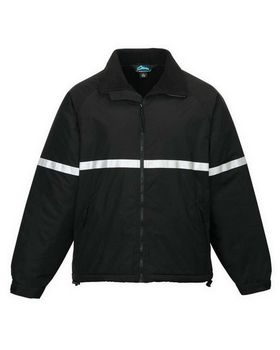 Tri-Mountain 8835 Men windproof/water resistant heavyweight safety jacket