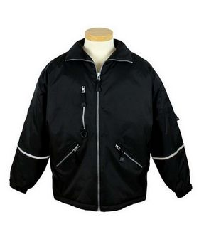 Tri-Mountain 8930 Courier Nylon Jacket with Reflective Tape
