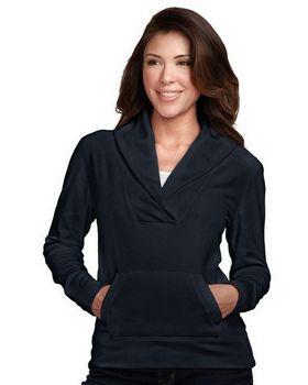 Tri-Mountain FL7270 Womens 100% Polyester Pullover With Long Sleeves Shawl Collar