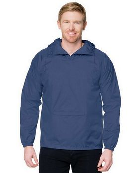 Tri-Mountain J1005 Pullover Hooded Anorak Jacket