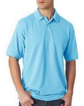 UltraClub 7500 Mens Classic Platinum Polo