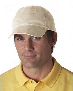 Ultraclub 8111 Brushed Solid Cap