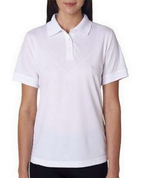 UltraClub 8315L Women Platinum Performance Pique Polo