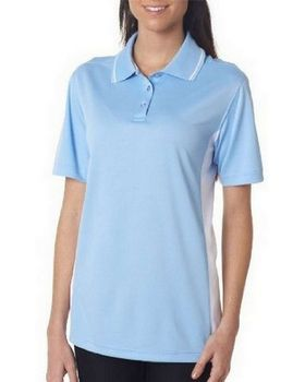 UltraClub 8406L Ladies Cool & Dry Sport Two-Tone Polo