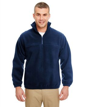 Ultraclub 8480 Iceberg Fleece 1/4-Zip Pullover