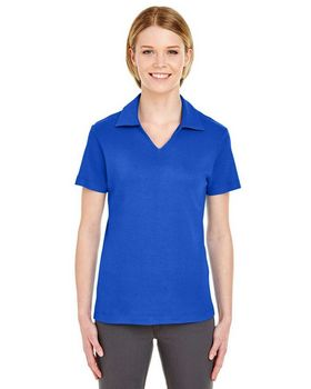 Ultraclub 8507 Ladies V-Neck Polo