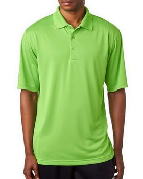 Ultraclub 8610 Men's Cool & Dry 8 Star Elite Performance Interlock Polo