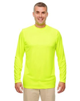 Ultraclub 8622 Mens Cool & Dry Performance Long-Sleeve Top