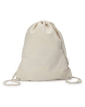 Liberty Bags 8875 Liberty Bags Cotton Canvas Drawstring Pack