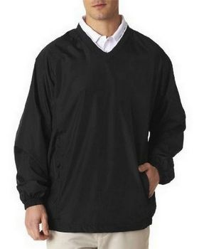 UltraClub 8937 Adult Micro-Poly Windshirt