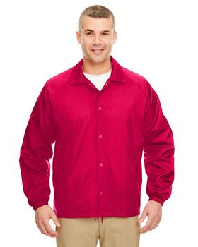 Ultraclub 8944 Adult Coaches Jacket - Shop at ApparelnBags.com