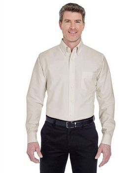 Ultraclub 8970 Long-Sleeve Oxford Dress Shirt