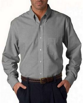 Ultraclub 8970T UC LS Oxford Dress Shirt - Shop at ApparelnBags.com