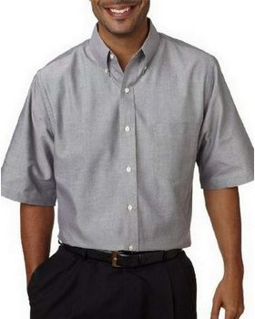 Ultraclub 8972T UC SS Oxford Dress Shirt - Shop at ApparelnBags.com