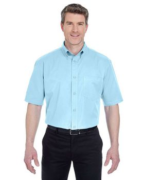 Ultraclub 8977 Short-Sleeve Whisper Twill
