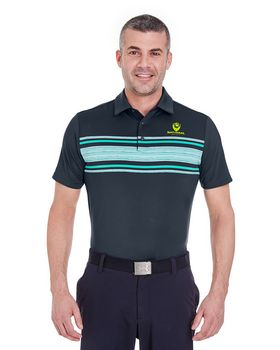 Under Armour 1253479 Men Playoff Space Dyed Polo Shirt