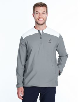 Under Armour 1317220 Men Corporate Triumph Cage Quarter-Zip Pullover
