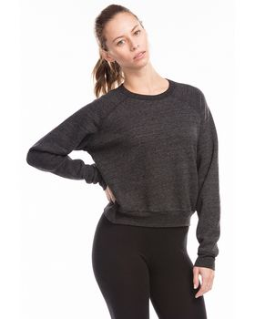 Us Blanks US838 Ladies Sponge Fleece Crop Top