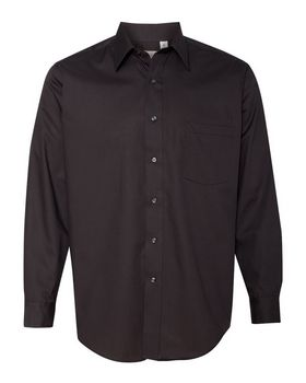 Van Heusen 13V0214 Broadcloth Long Sleeve Shirt