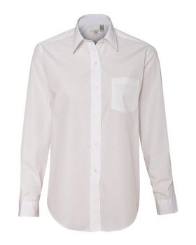 Van Heusen 13V0216 Womens Broadcloth Long Sleeve Shirt