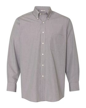 2ee5cdba08 Van Heusen 13V0426 Yarn Dyed Mini Check Long Sleeve Shirt ...