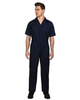 Walls Outdoor 1216 Unisex Twill Non-Insulated Short-Sleeve Coverall