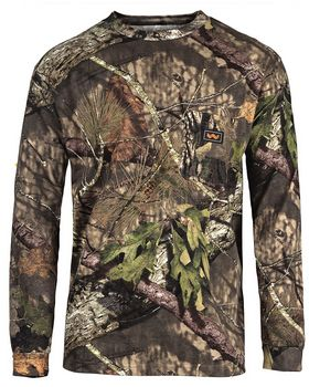 Walls Outdoor 56091 Unisex Hunting Long-Sleeve Pocket T-Shirt