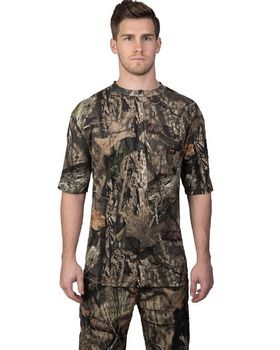 Walls Outdoor 56094 Unisex Hunting Short-Sleeve Pocket T-Shirt