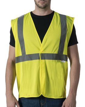 Walls Outdoor W38225 Mens ANSI II Mesh Safety Vest