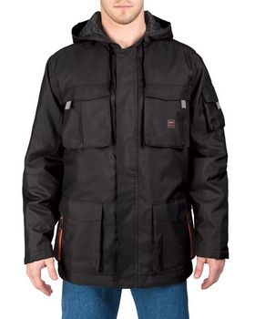 Walls Outdoor YC299 Mens Modern Work Cut & Shoot Hooded Coat