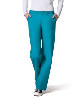 Wonderwink 5016T Women's Tall Quebec Full Elastic Cargo Pant