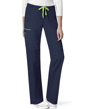 Wonderwink 5508P Women's Petite Joy-Denim Style Straight Pant
