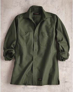 Wrangler WS10 Long Sleeve Work Shirt - Shop at ApparelnBags.com