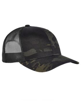 Yupoong 6006MC Classics Adult 5-Panel Multicam Trucker Cap