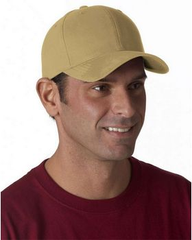 Yupoong 6363 Solid Adjustable Cap - Shop at ApparelnBags.com