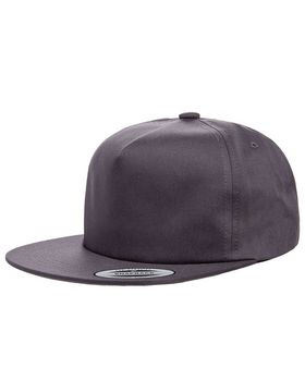 Yupoong Y6502 Adult Unstructured 5-Panel Snapback Cap