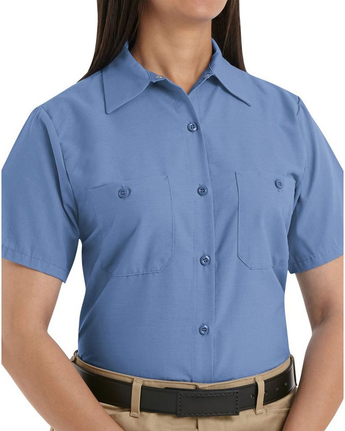 53982fe1 Red Kap SP23 Womens Industrial Work Shirt - Free Shipping Available