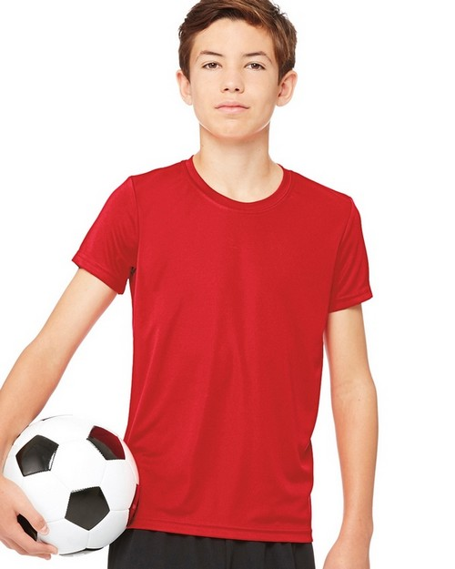 All Sport M1009Y Youth Performance Short Sleeve Tee