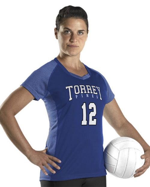 Alleson Athletic 831VSJW Women's Dig Short Sleeve Volleyball Jersey
