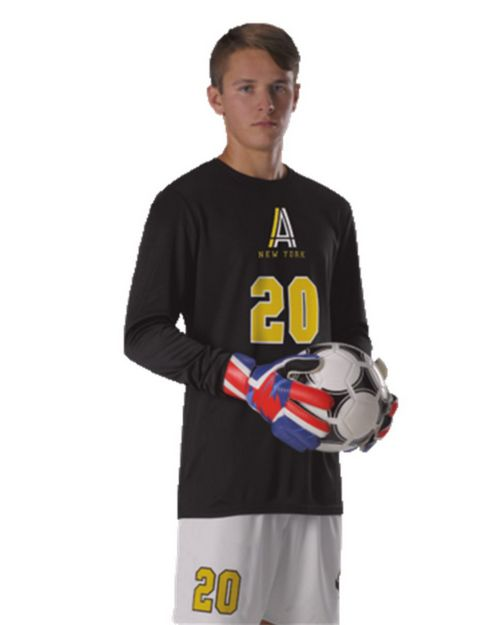 Alleson Athletic SG101Y Youth Long Sleeve Goalie Soccer Jersey